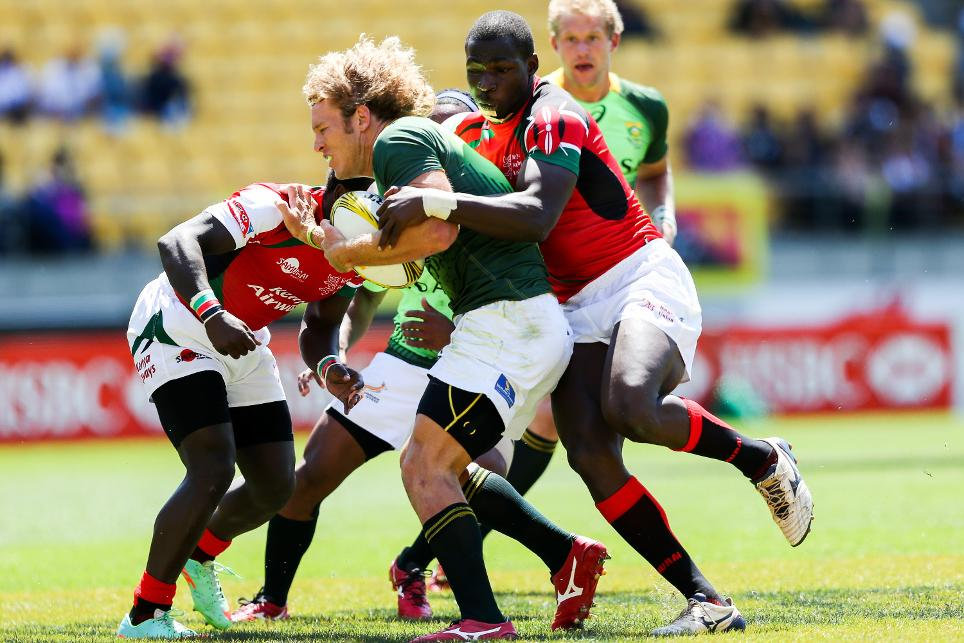 South Africa's colossus Werner Kok- Olympics Sevens Uncovered