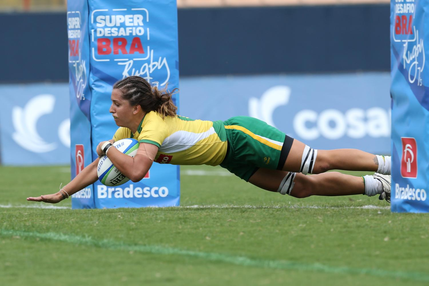 Try time for Brazil's Luiza Campos on day one at Brazil 7s