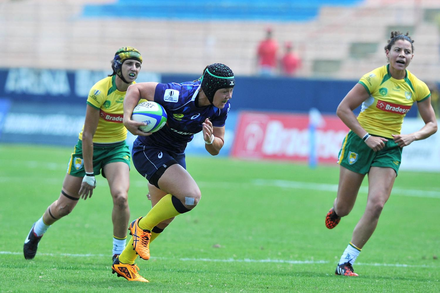 Australia and Brazil on day one of the Brazil 7s