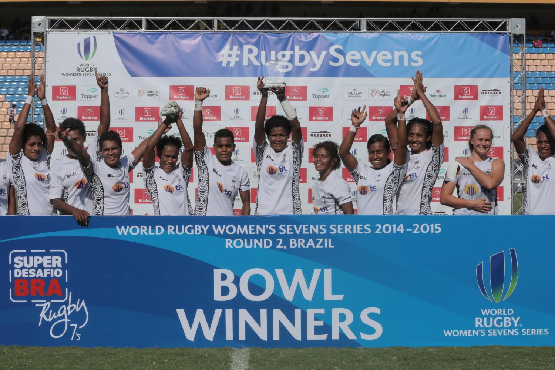 Fiji wins Bowl at Brazil 7s