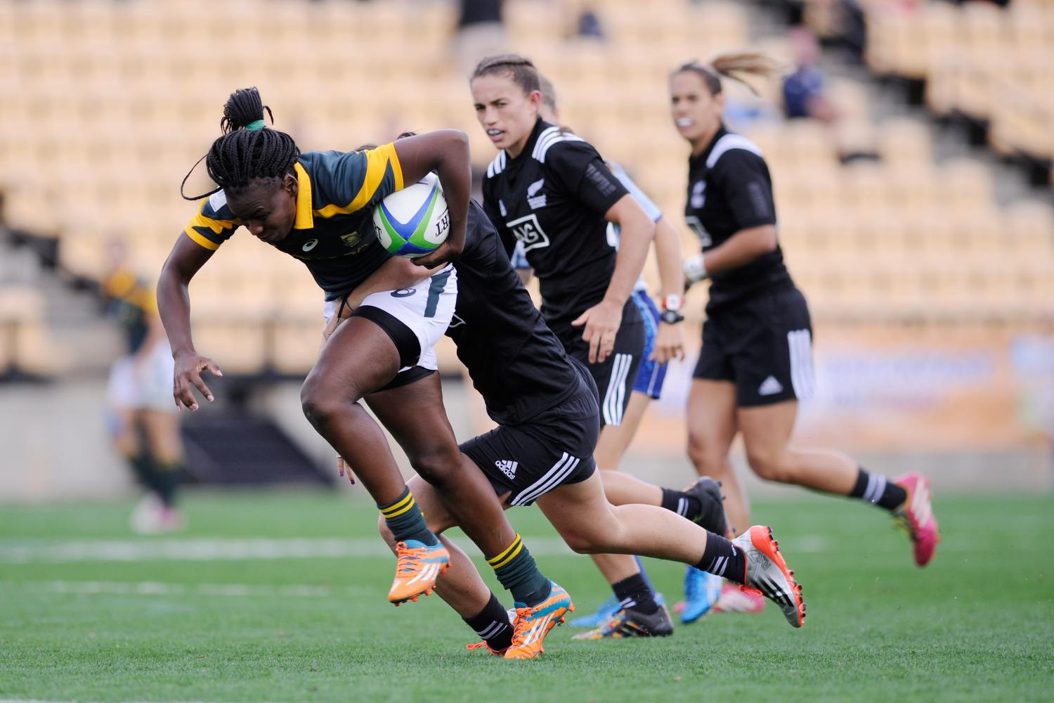 South Africa on the attack against New Zealand