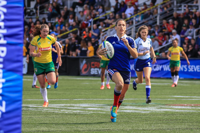 Women's Sevens Series: France v Brazil
