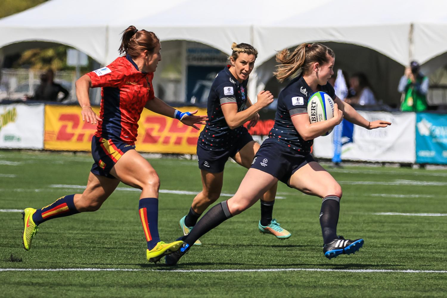 Women's Sevens Series: England v Spain