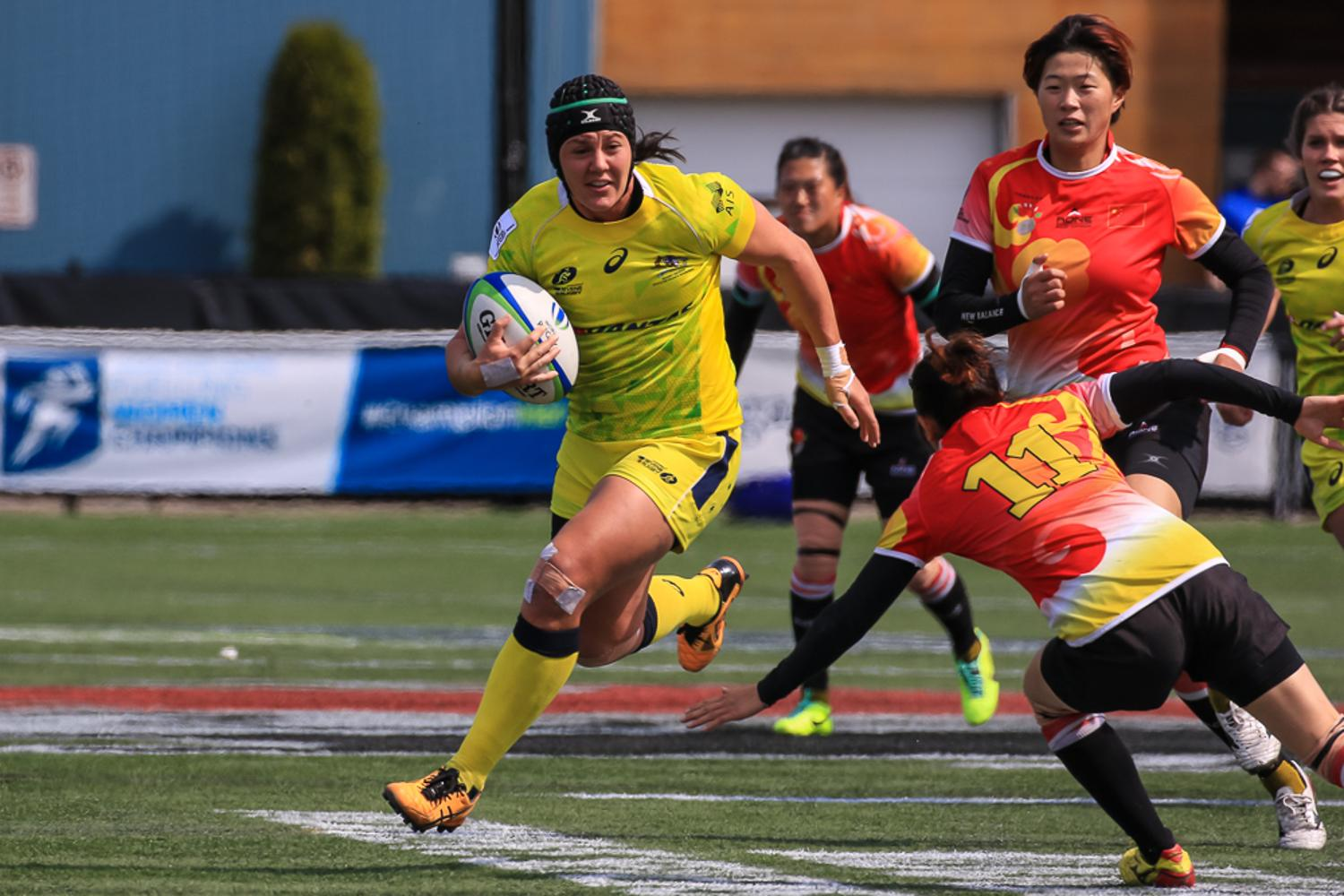 Women's Sevens Series: Australia v China