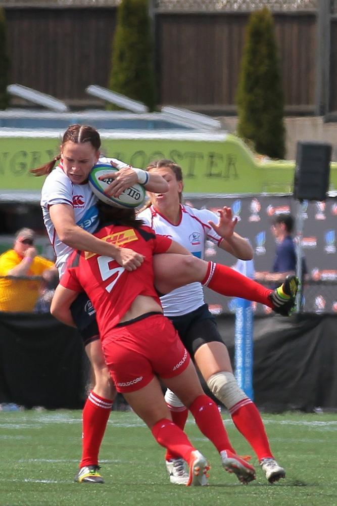 Women's Sevens Series: Canada v Russia