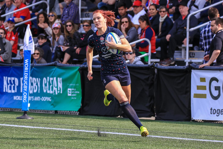 Women's Sevens Series: England v Fiji