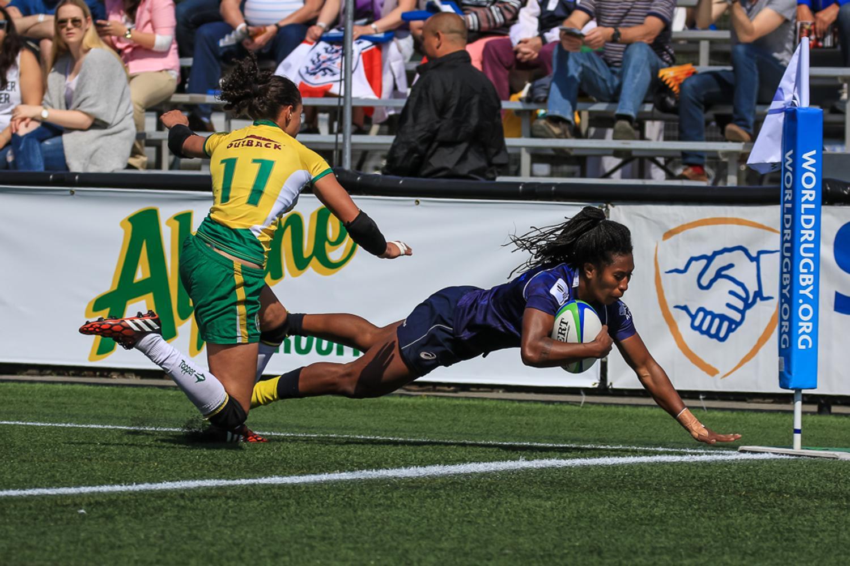 Women's Sevens Series: Australia v Brazil