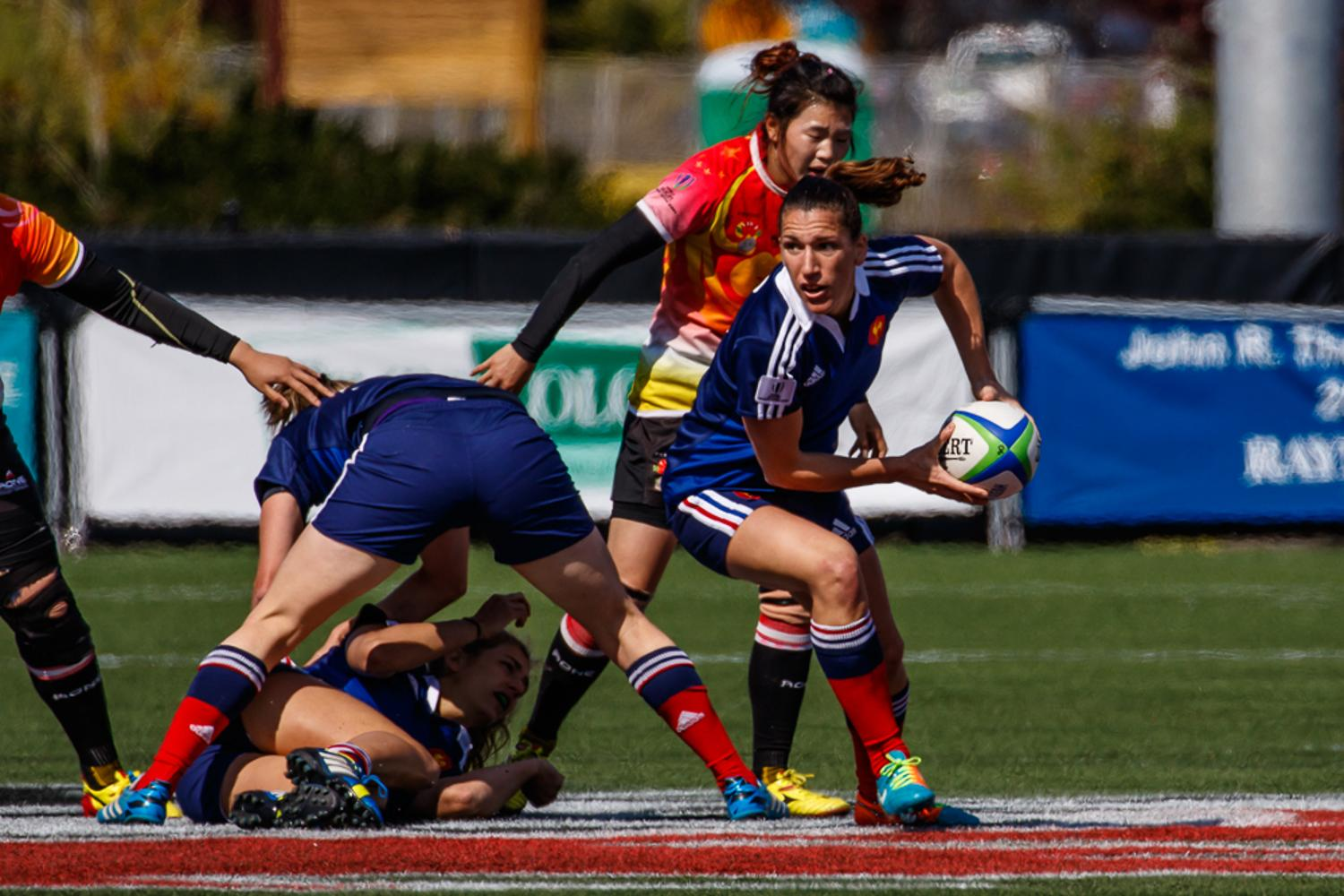 Women's Sevens Series: France v China
