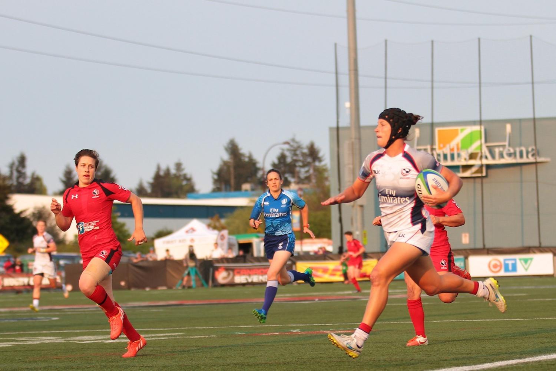 Women's Sevens Series: Canada v USA