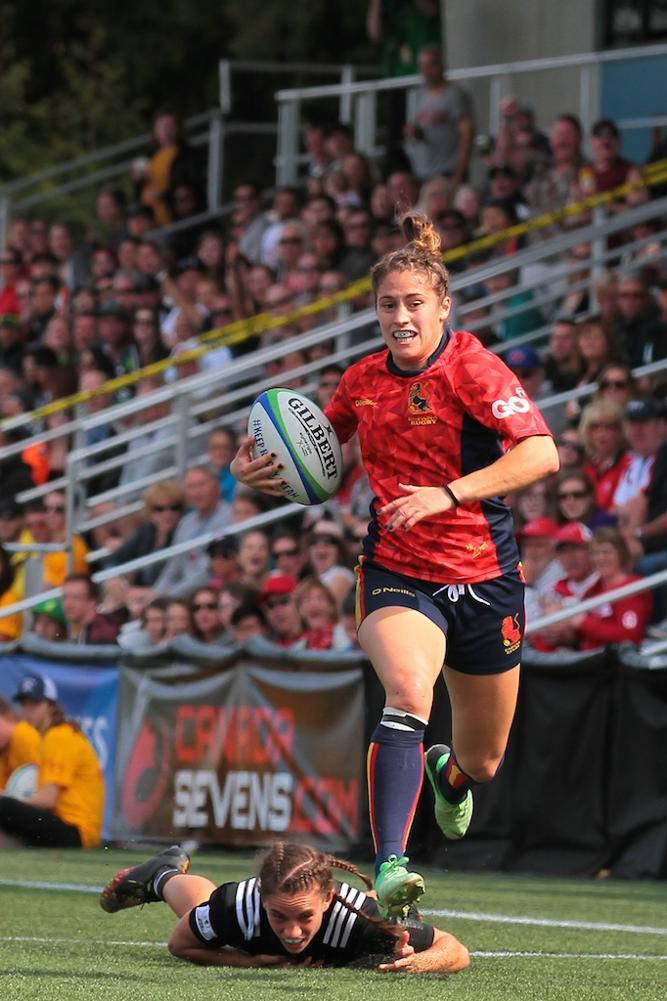 Women's Sevens Series: New Zealand v Spain