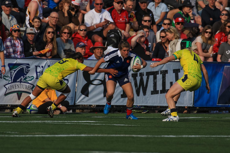 Women's Sevens Series: Australia v France
