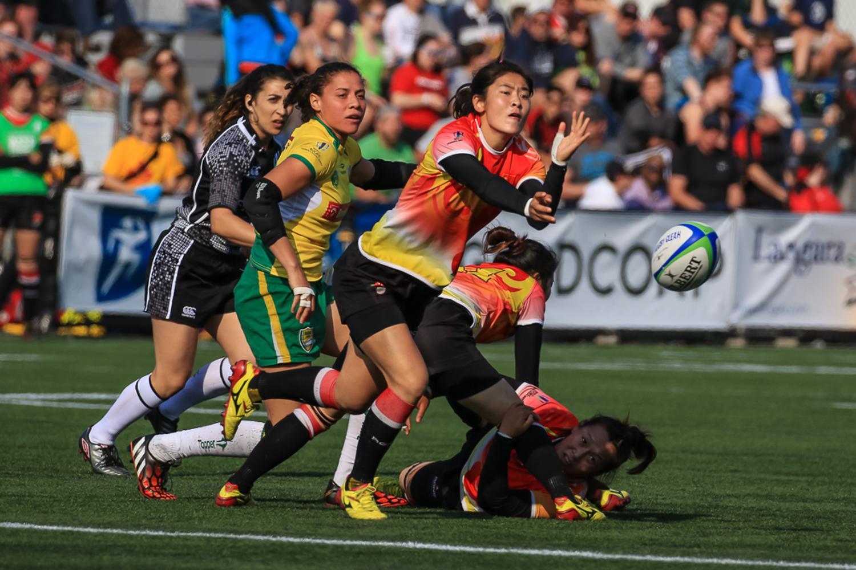 Women's Sevens Series: Brazil v China