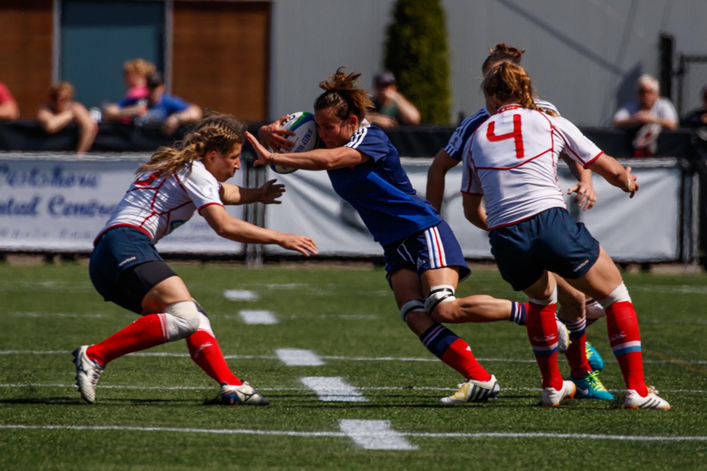 Women's Sevens Series: France v Russia