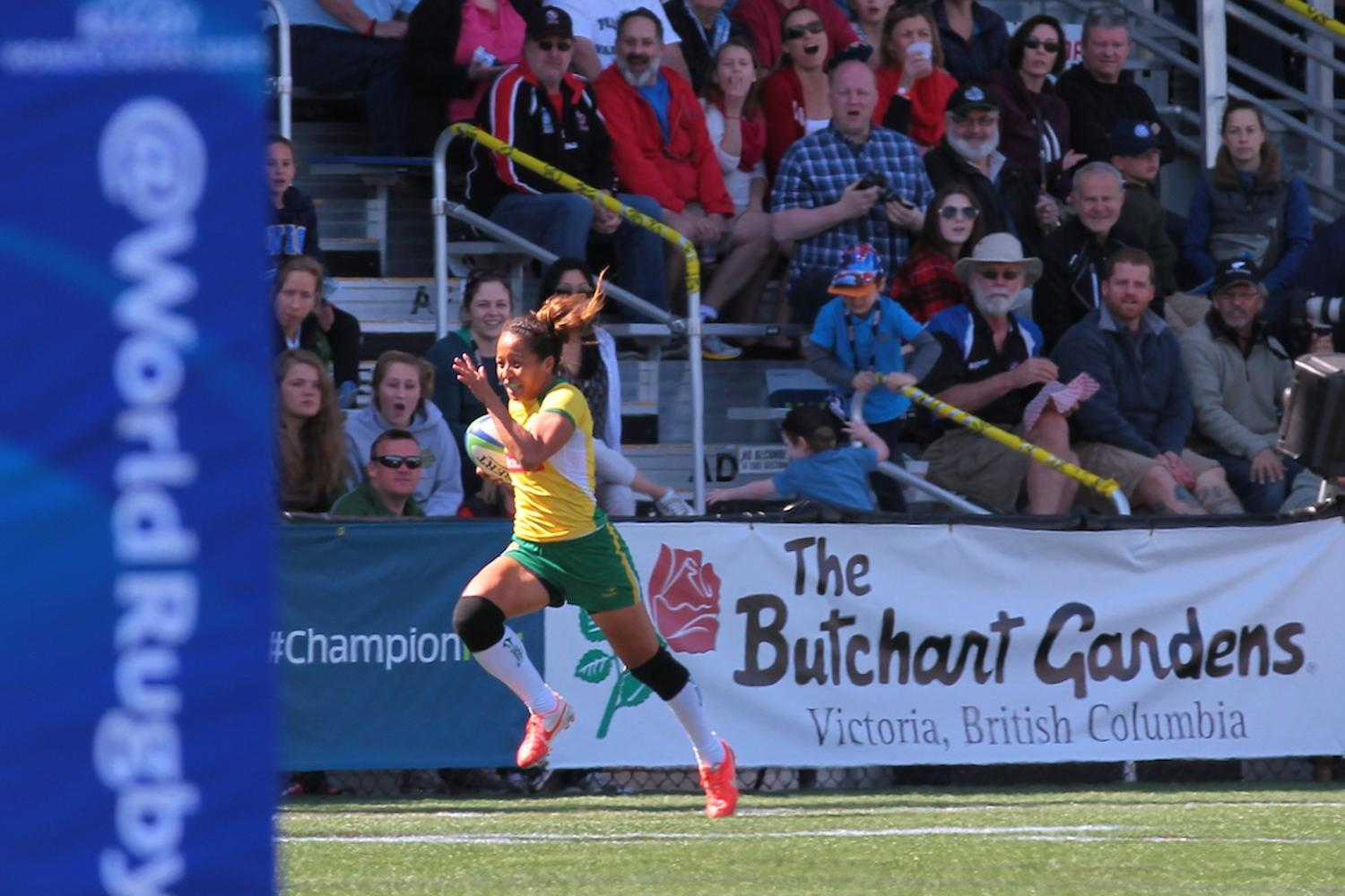 Women's Sevens Series: Brazil v South Africa