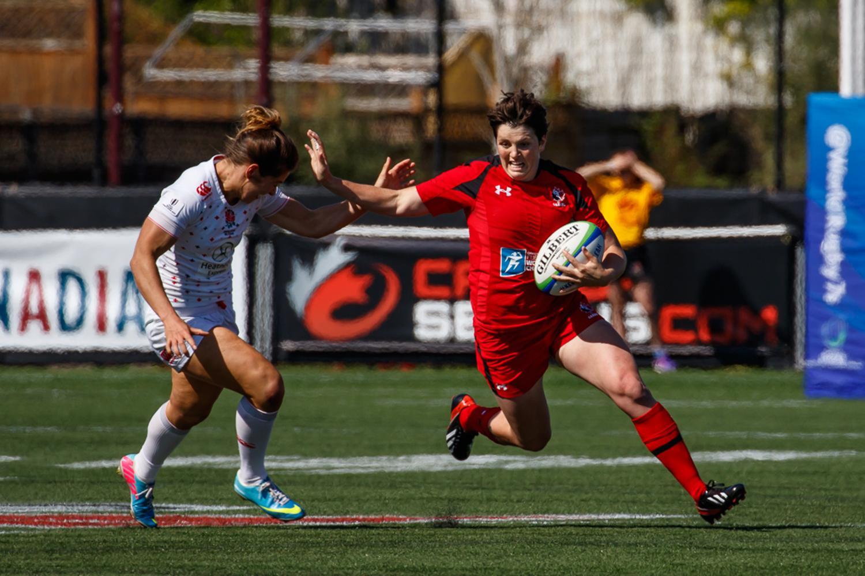 Women's Sevens Series: Canada v England