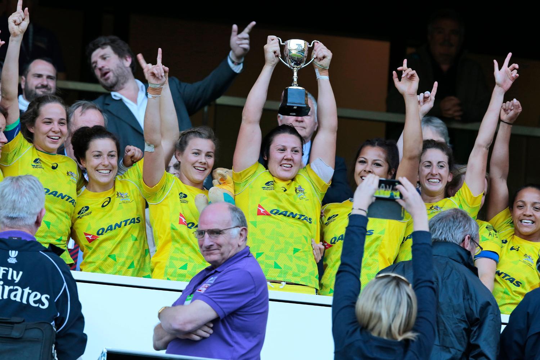 Australia trophy win