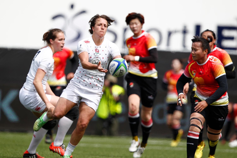 England v China Amsterdam Sevens 2015