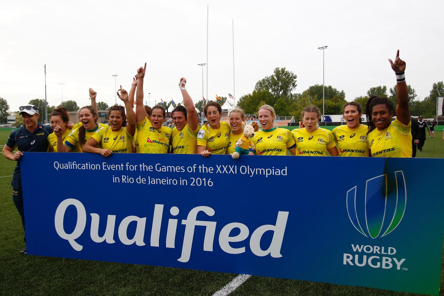 Australia secure Olympic qualification