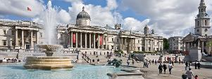 Trafalgar Square, Central London