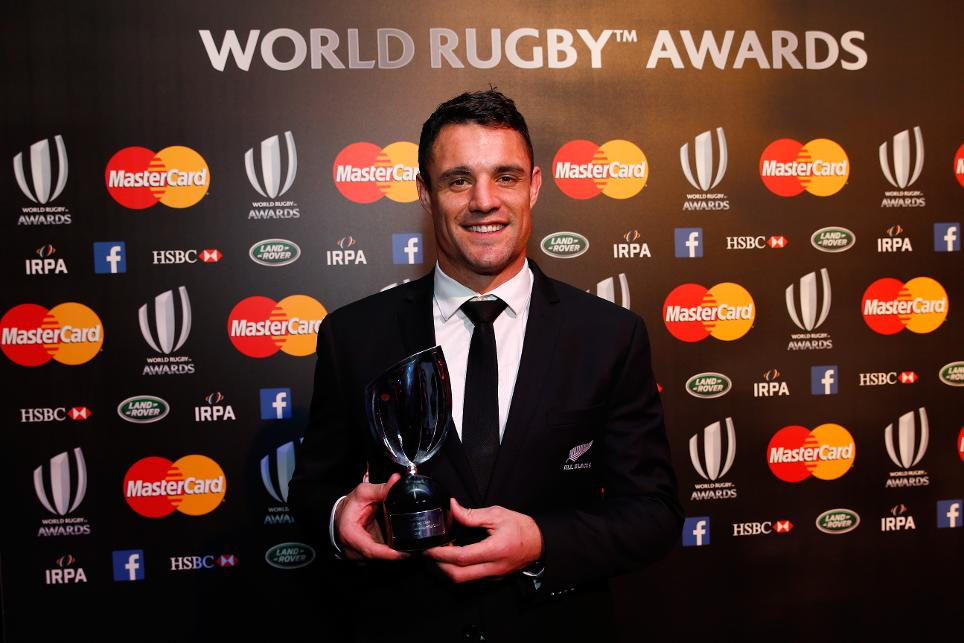 Daniel Carter named World Rugby Player of the Year 2015