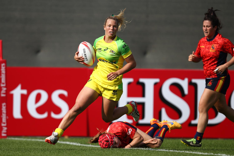 Emma Tonegato scores for Australia