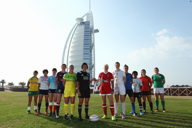 Women's Sevens Series captains