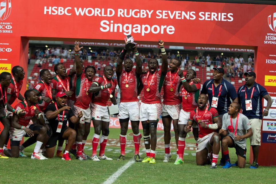 Kenya vince la tappa di Singapore del HSBC Sevens World Series