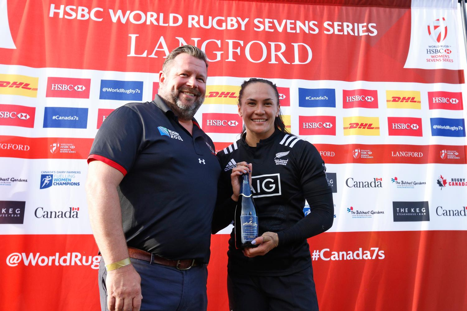 Portia Woodman named Player of the Tournament.