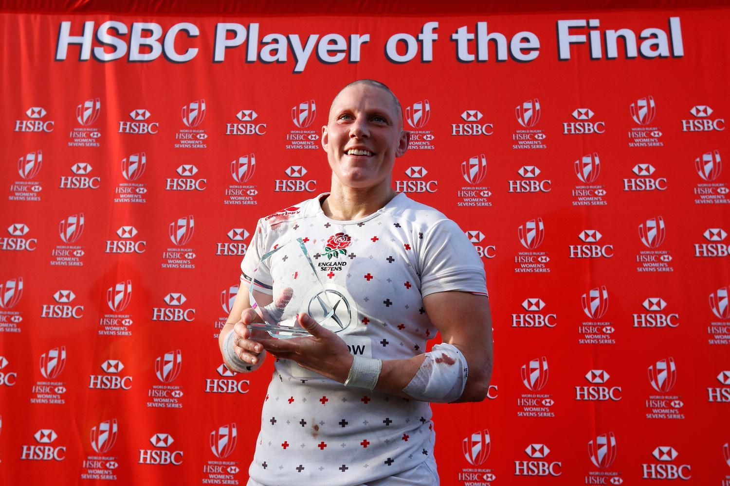 Heather Fisher named Player of the Final.