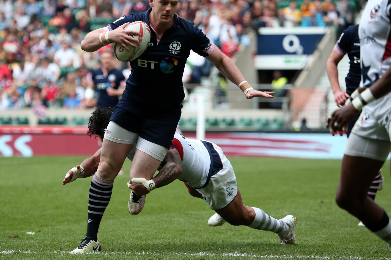 Scotland's Glenn Bryce