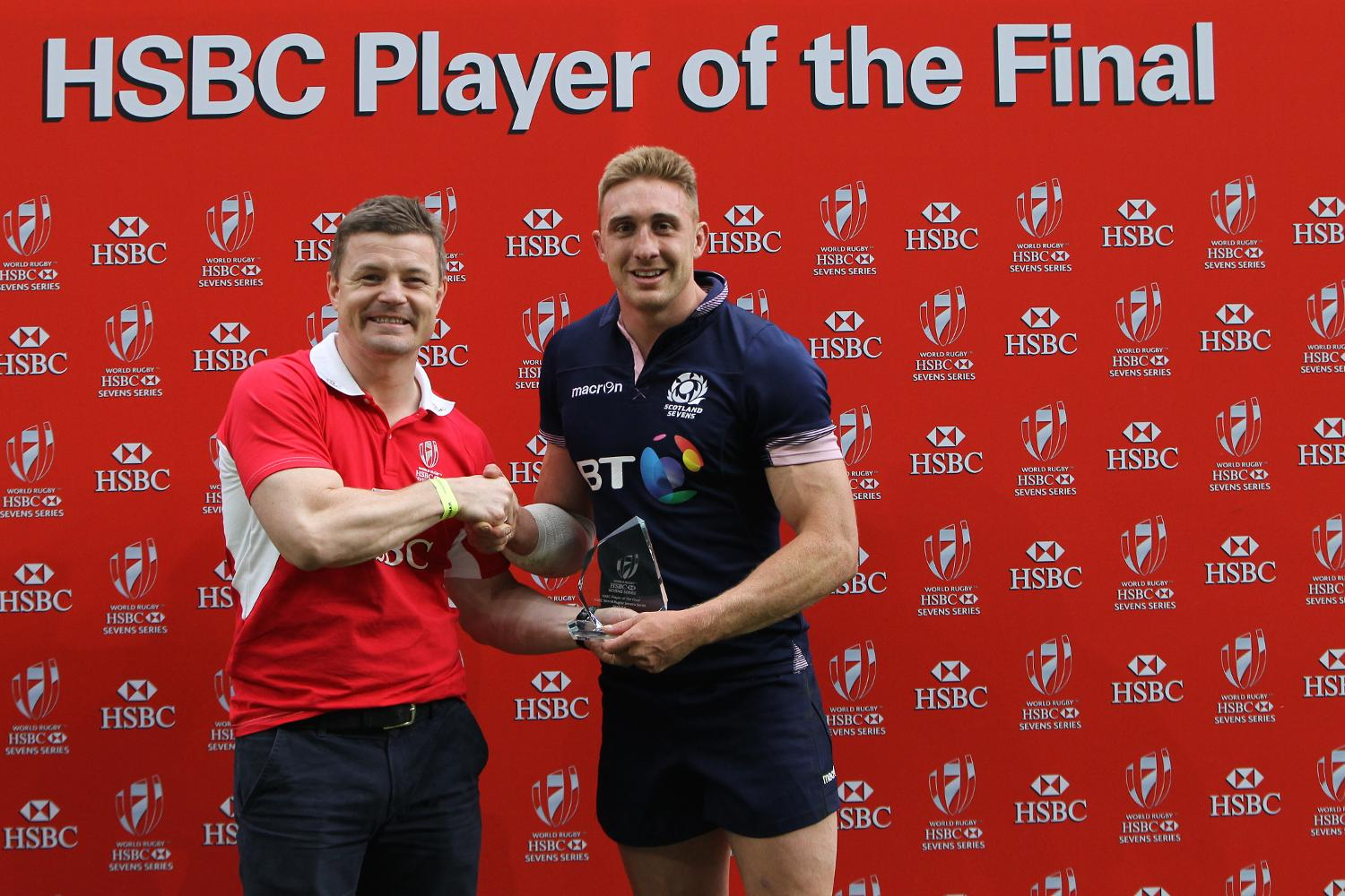 Dougie Fife wins the HSBC Player of the Final in London