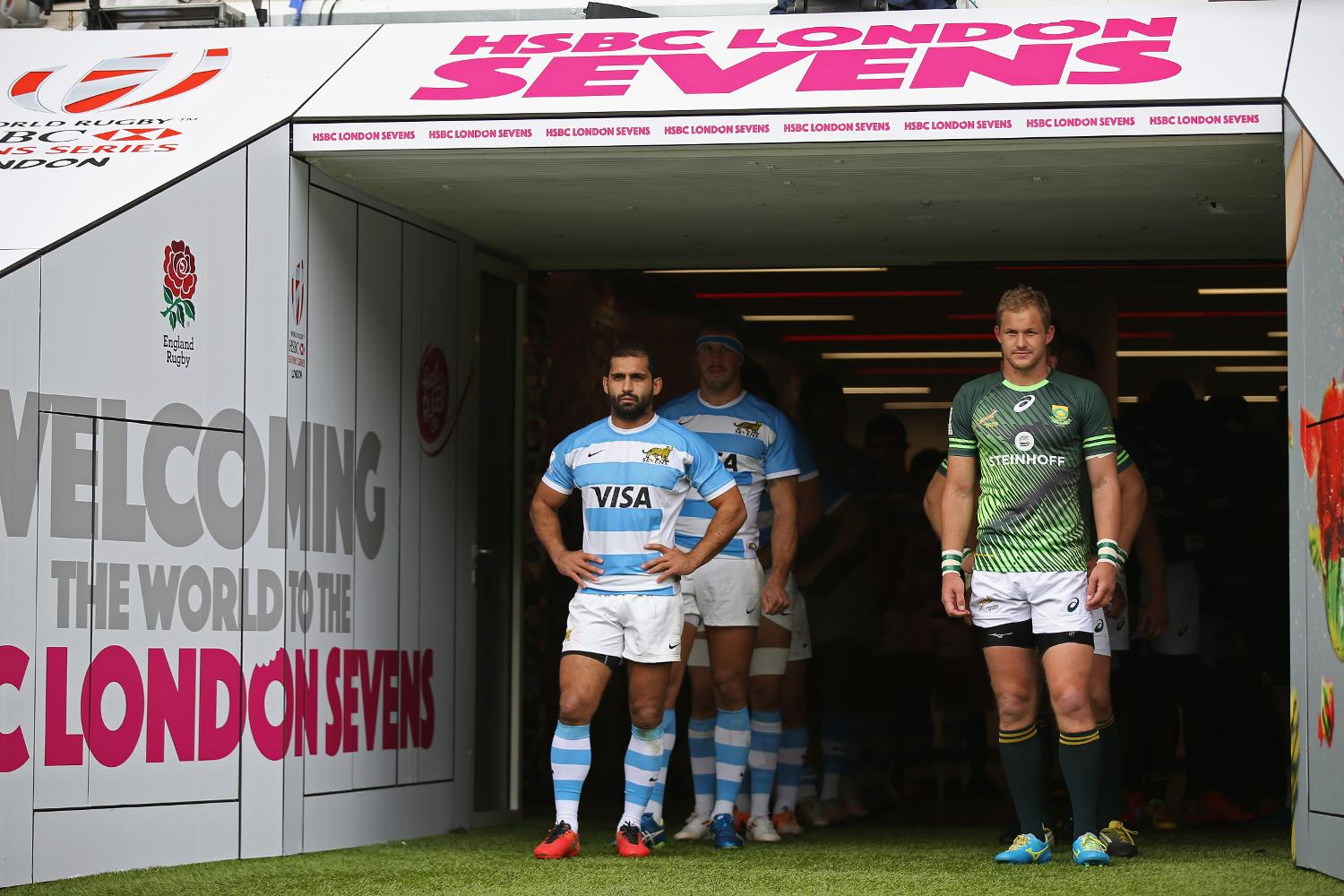 Argentina and South Africa at the HSBC London Sevens