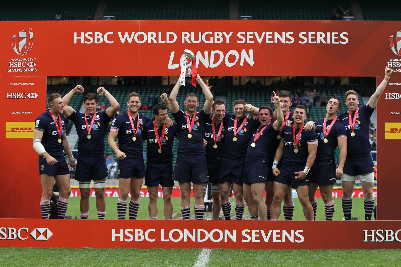 Scotland win the HSBC London Sevens