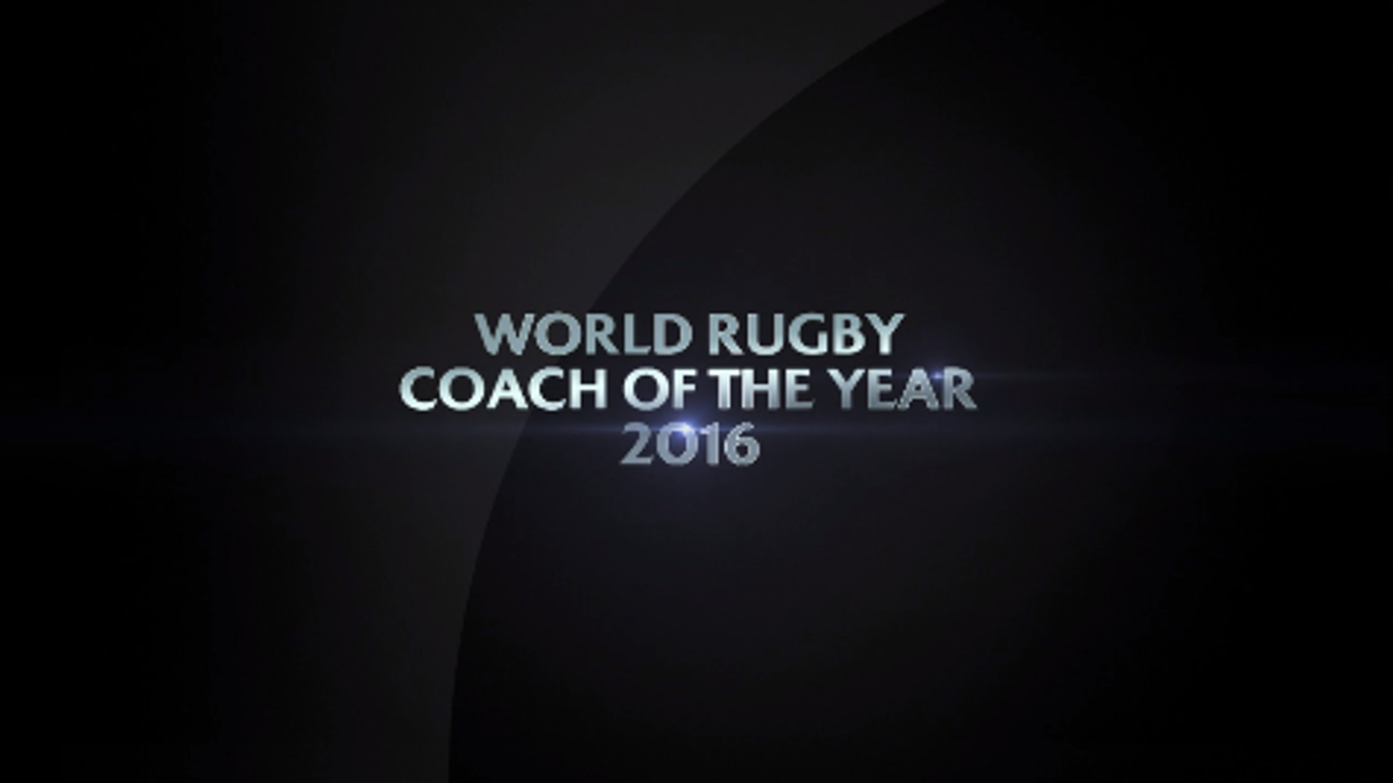 World Rugby Coach of the Year 2016 nominees