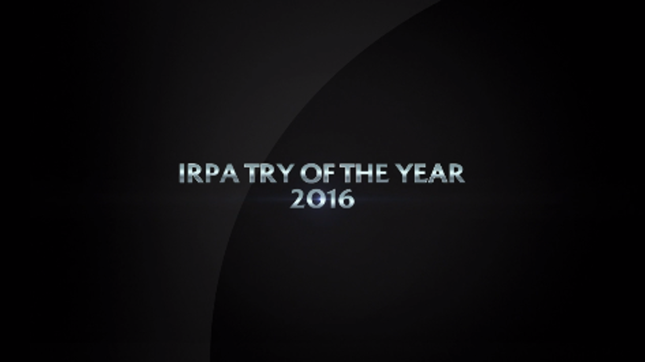 IRPA Try of the Year 2016 nominees