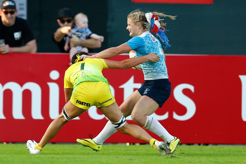 Alena Mikhaltsova - Australia vs. Russia