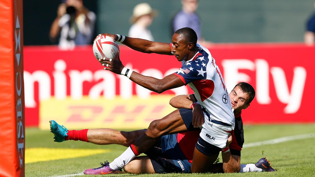 Seven of the best tries from the men's Dubai sevens!