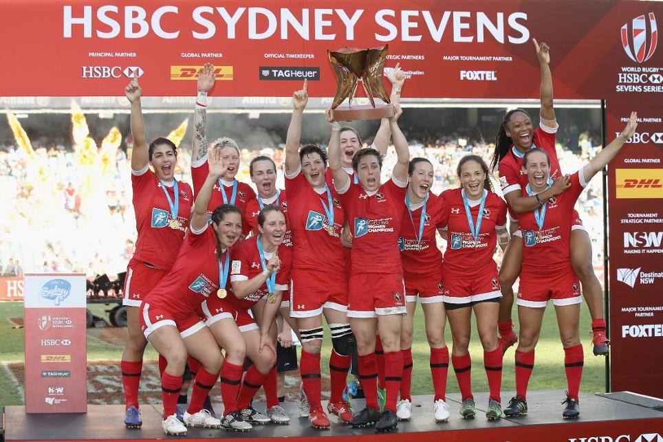 Canada lift trophy on day of shocks in Sydney