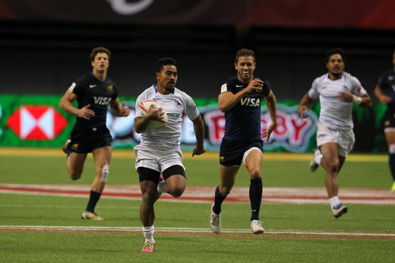 HSBC Canada Sevens - Argentina v Samoa