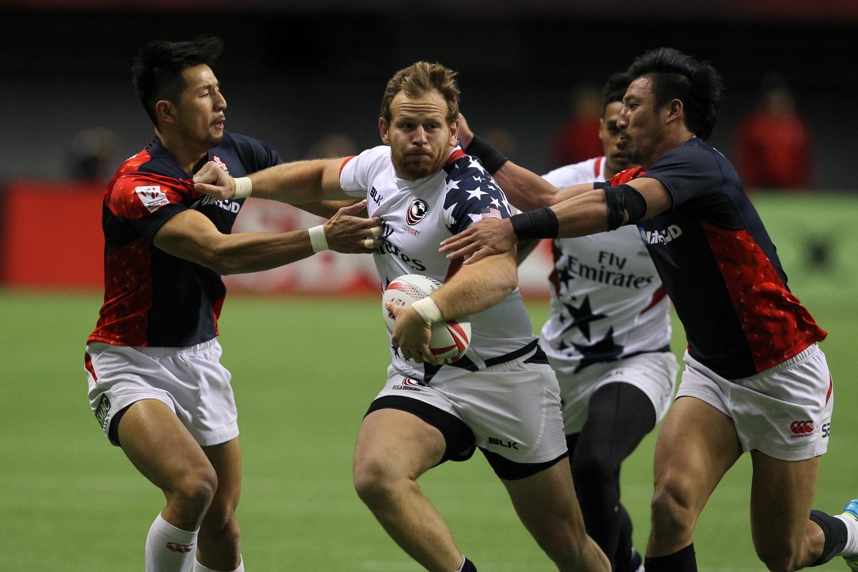 HSBC Canada Sevens - USA v Japan