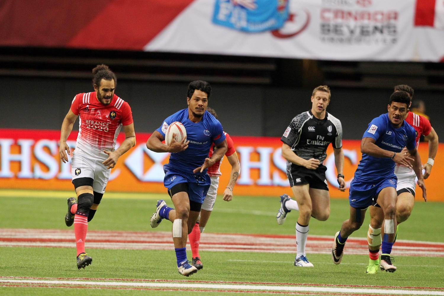 HSBC Canada Sevens Men's - Samoa v France