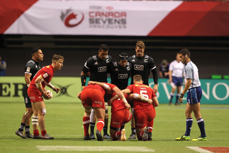HSBC Canada Sevens - New Zealand v Canada
