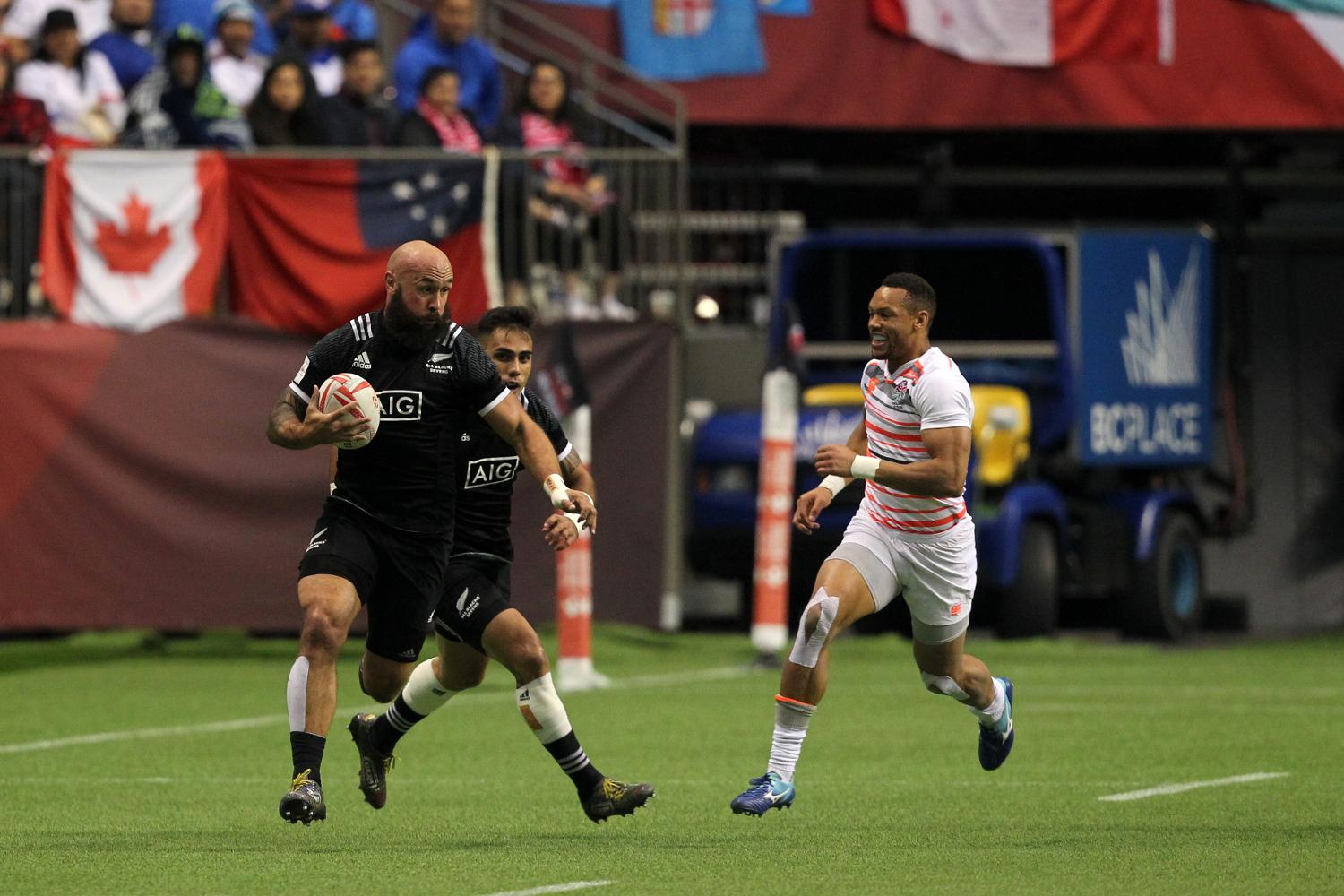 HSBC Canada Sevens - New Zealand v England