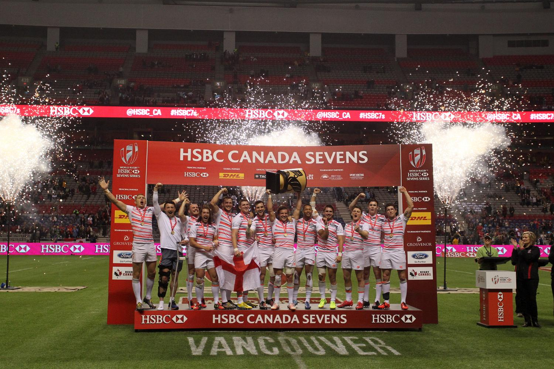 HSBC Canada Sevens - England
