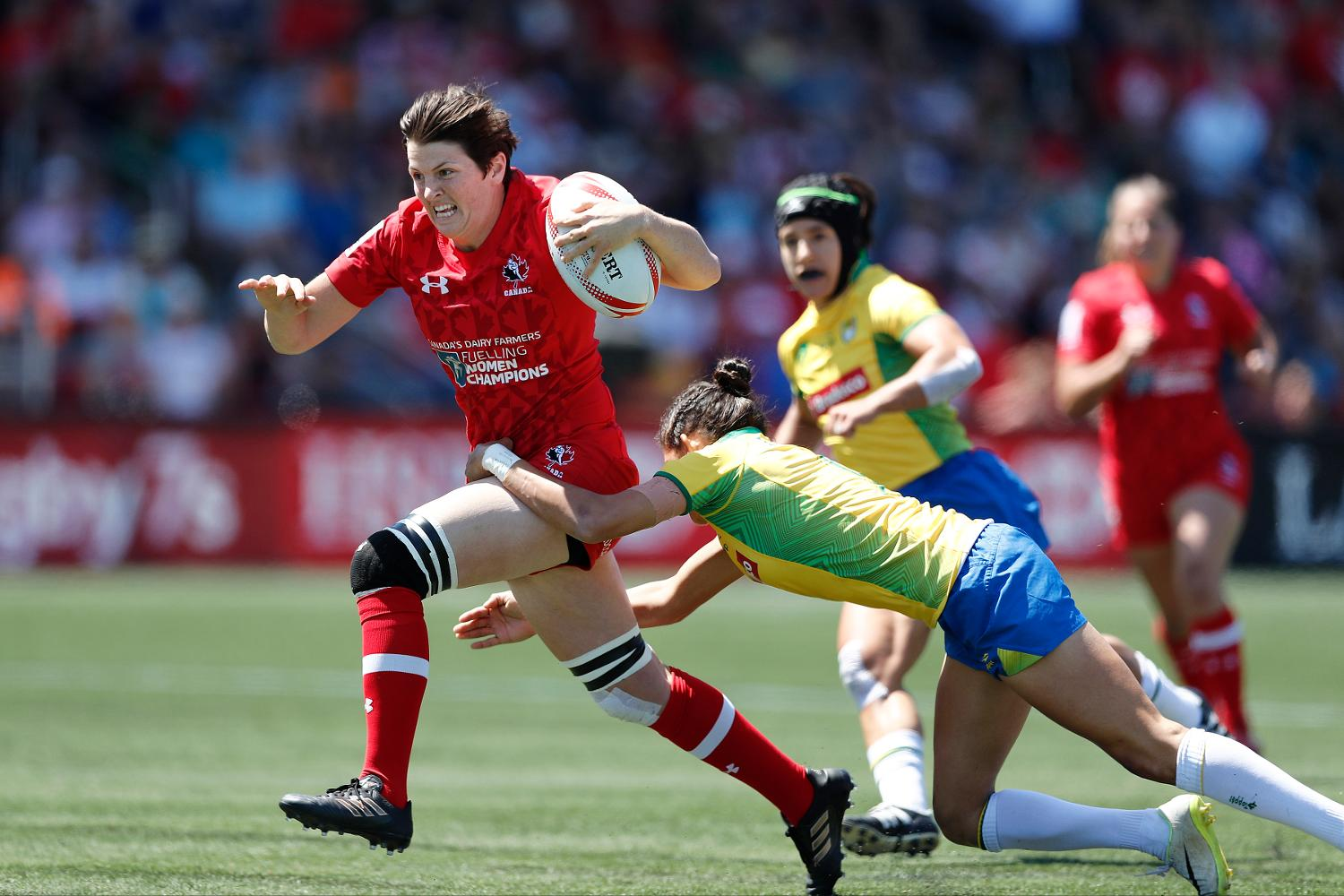 HSBC World Rugby Women's Sevens Series Langford