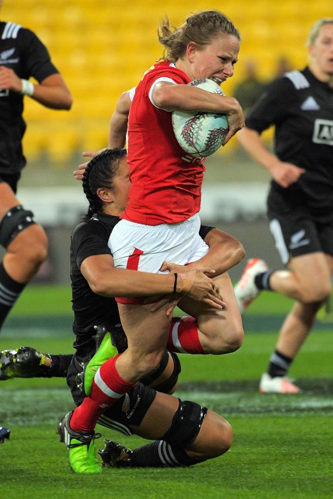 International Women's Rugby Series 2017: New Zealand v Canada