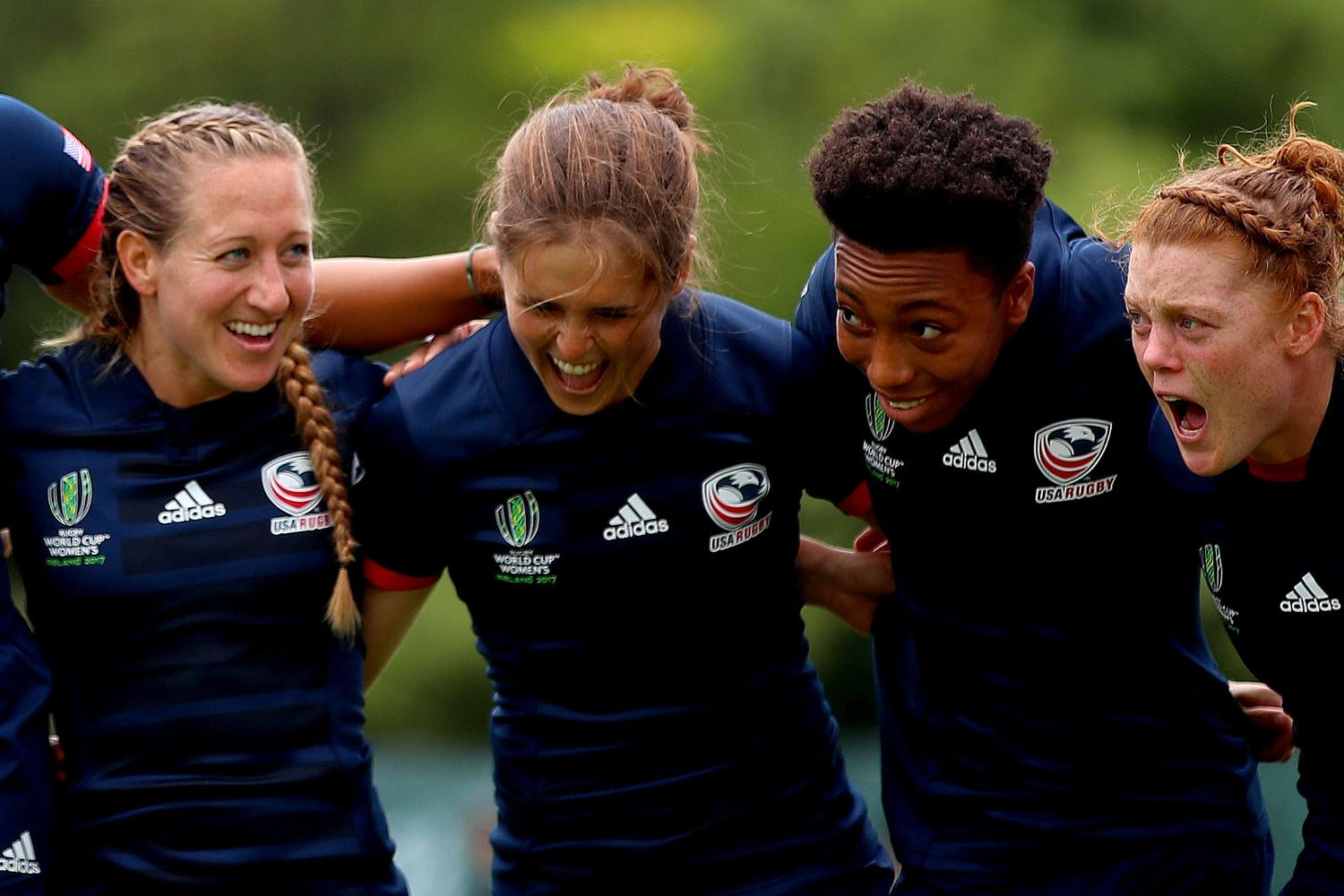 WRWC 2017:  USA motivated ahead of the England match
