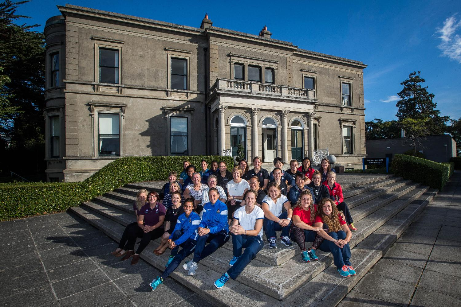WRWC 2017:  Former and present WRWC captains attend the Captains Breakfast