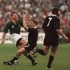 Joel Stransky (L), Andrew Mehrtens (C) - RWC 1995 final drop goal