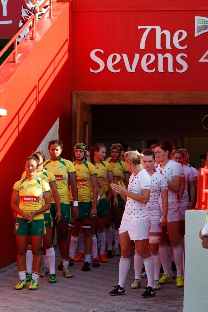 Brazil v England World Rugby Women's Sevens Series 2014/2015